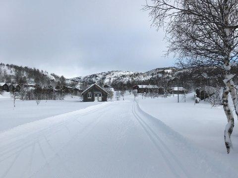 KJØRER LØYPER: Den gode mengden med snø som kom onsdag, har gjort at Sirdalsløyper kan kjøre opp alle løypene. Det meldes om gode forhold.