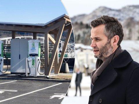 KOSTBART: Ordfører Per Sverre Kvinlaug (KrF) mener det er kostbart om kommunene skal drifte ladestasjonene selv i utkantene.