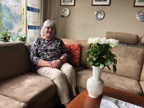 HJEMME I KARANTENE: Audrey Doherty Midtbø hadde ikke mer enn 37,7 i feber, og sier det var ikke så galt som en vanlig influensa.