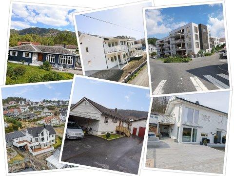 JEVNT: Kjøp og salg av eiendommer har holdt seg jevnt.