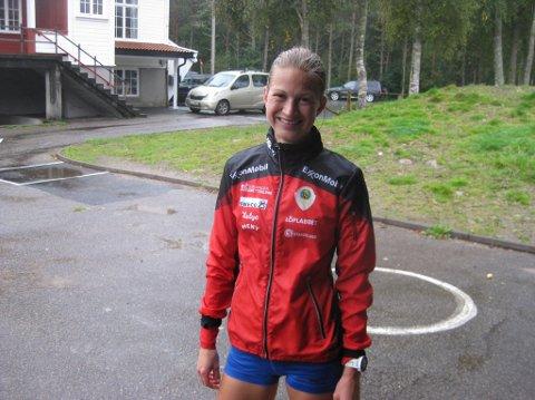 GOD SESONGSTART: Ida Tjørsvaag tok 11. plassen i et gateløp over fem kilometer på Forus. ARKIVFOTO: ROY HARBAKK