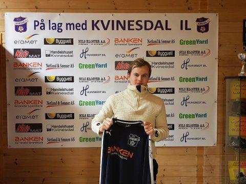 Asle Liland og andre lokale seniorspillere får ikke gjennomført sesongen 2020. Liland meldte overgang til Kvinesdal fra Flekkefjord foran årets sesong. Foto: KIL
