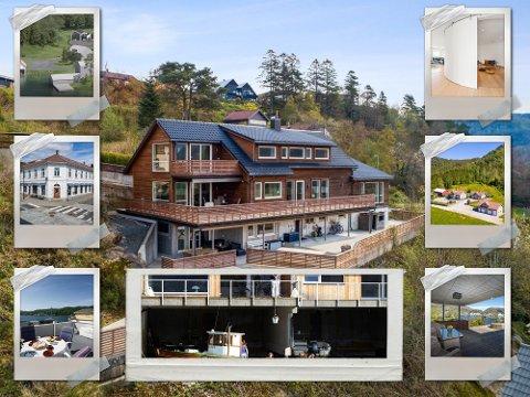 DYRE BOLIGER: Dette er noen av de dyreste boligene i våre kommuner.