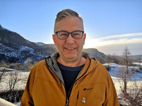 OPPTUR: Kjell Andreas Heskestad opplevde, i likhet med andre strømprodusenter, fjoråret som et dårlig strømår. Starten på 2021 har imidlertid vært mye bedre.