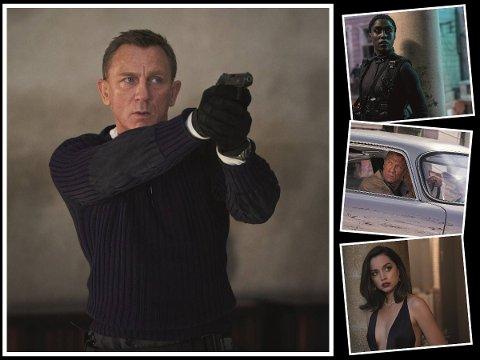 BOND, JAMES BOND: Den første helgen med James Jond gikk som smurt på lokale kinorer. Dette er Daniel Craigs siste film i rollen som 007.
