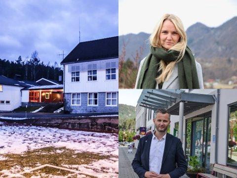 ENIG I MYE, MEN IKKE KONKLUSJONEN: Bente Ingebretsen (Ap) ønsker at også Kvinlog skole skal ha femdagers uker. Ordfører Per Sverre Kvinlaug (KrF) argumenterer med at foreldrenes ønske er avgjørende i saken.