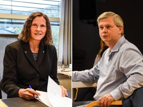 SKEPTISK: Ordfører Magnhild Eia (Sp) tror de midlertidige utvalgene vil kunne gjøre en god jobb. Høyre-leder René Munthe Eik er skeptisk til behovet for enda flere utvalg.