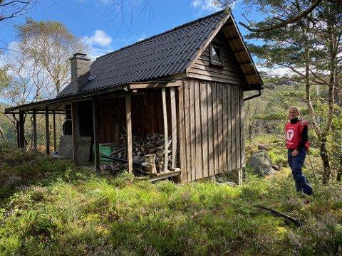 Turen går til Speiderhytta som ligger ved Urstadvannet.