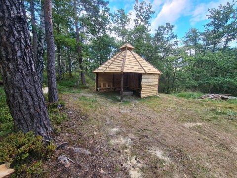 RAULI: Flekkefjord og Oplands Turistforenings nye hytte åpner søndag i forbindelse med Kom deg ut-dagen.