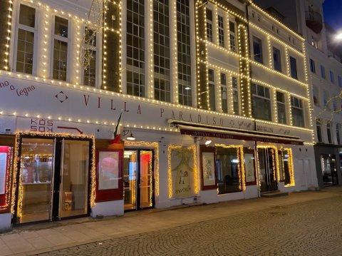 STENGER: Villa Paradiso i Grensen fyrer ikke opp pizzaovnene igjen.