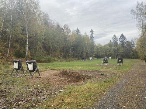 Det ligger flere treningsbaner for bueskyttere i nærheten av stedet mannen ble observert.
