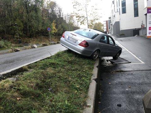 ULYKKE: Årsaken til ulykken er trolig høy hastighet, ifølge politiet.