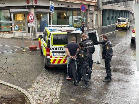 RAN: Politiet har pågrepet to personer i forbindelse med ran i Prinsens gate.