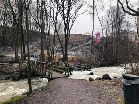 Disse arbeidene i utkanten av Svartdalen er det en turgåer reagerer på.