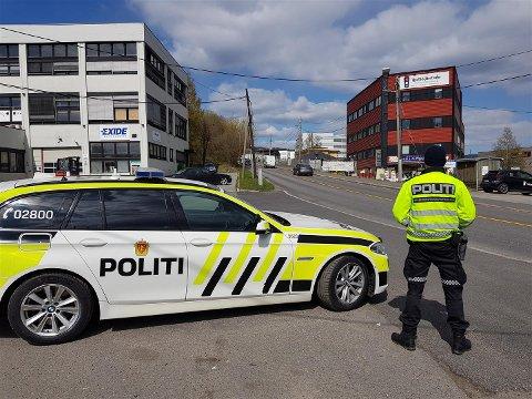 Trafikkseksjonen i Oslo-politiet avholdt kontroll i Brobekkveien fredag formiddag.