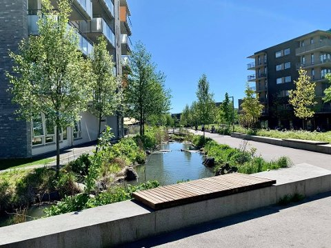 NYTT NABOLAG: Ensjø er et av de nye nabolagene i Oslo.