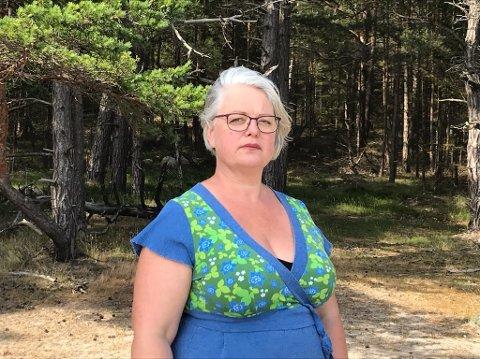 VARSLET PÅ: Kirsten Laake bor på Sørumsand, hvor hun jobber som lektor.