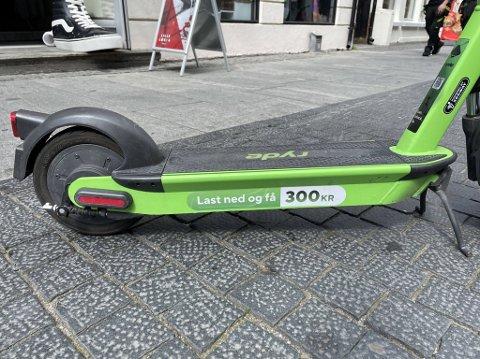 FÅR KJEFT: Forbrukertilsynet er ikke fornøyd med markedsføringspraksisen som elsparkesykkelaktøren Ryde har bedrevet siden de etablerte seg i Oslo.