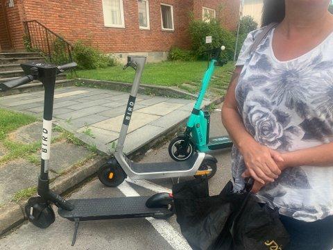 LIVREDD: «Heidi» har flere helseplager. Hvis hun havner i en ulykke med en elsparkesykkel, kan det få alvorlige helseproblemer og store økonomiske utfordringer.