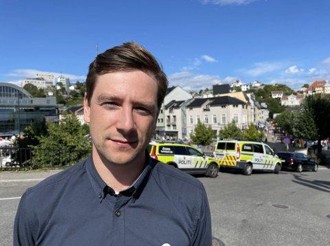 Andreas Sjalg Unneland er tredjekandidat på Oslo SVs stortingsliste. Dette vil han gjøre i kampen mot voldtekt, om SV får regjeringsmakt.