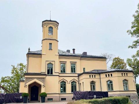 ÅPENT: Etter 150 år er endelig Villa Heftye åpnet for allmennheten. Bygget var direktørbolig for NSB. Foto: Jørgen Hyvang/Avisa Oslo