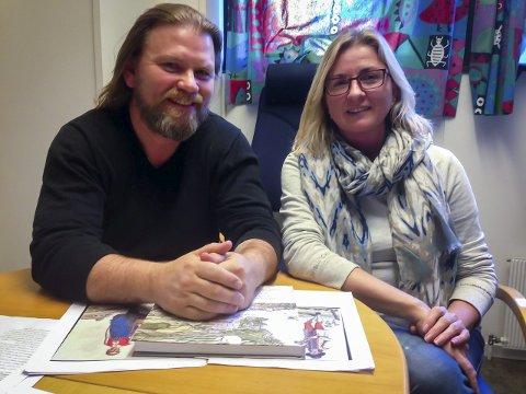 Bjørn Bagge og Gina Dahl har laga ei reiseskildring om Bergen i 1765.