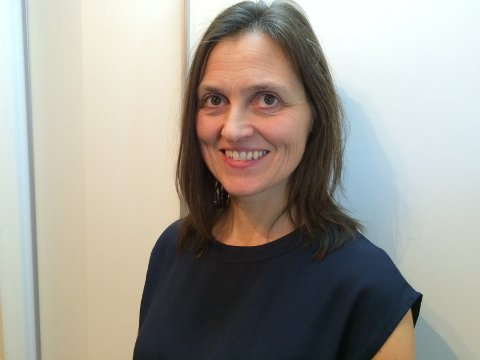 Kari Espelund Bruvik er ny rektor ved Knarvik vidaregåande skule. Foto: Privat