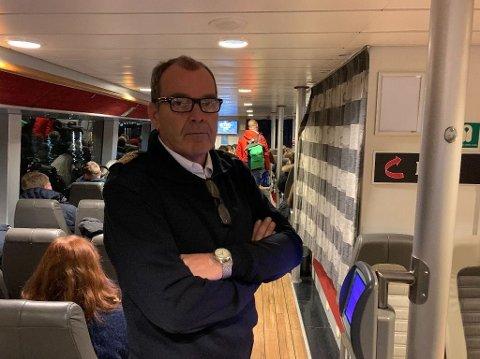 Kaptein Tor Svåsand seier dei er førebudd på fleire ekstra avganger.