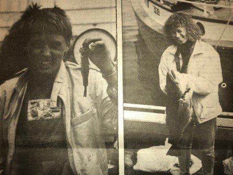 Liv Byrknes fekk størst fisk på 6.9 kilo og Britt Rong fekk den minste fisken på 10 gram.