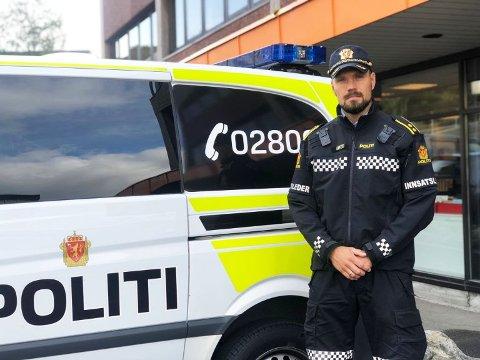 Trafikkansvarleg Sindre Erstad, håper alle kan respektere 50-sona i Ådlandsvegen.