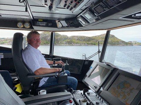 FÅR HOVUDKONTRAKT: Vidar Hop Skyssbåtar AS får kontrakt for drift av lokalbåt i Gulen og Solund.