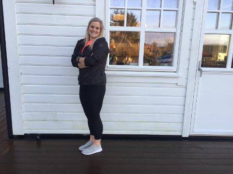 May Sissel Hopsdal Villanger er ny dagleg leiar i Trim, trening og terapi. Tida treningssenteret har vore stengt har fortel ho at dei har nytta til å pusse opp deira nye lokale.