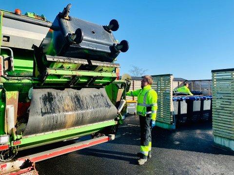 NGIR: Renovasjonsselskapet sluttar med den tradisjonelle vår- og haustrydderuta i Gulen, Masfjorden og delar av Alver. Bildet av bosstømming er brukt som illustrasjon.