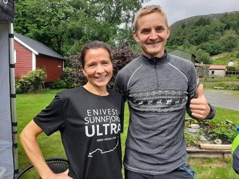 Målfrid Hermannsen Valdersnes (44) var raskast av kvinnene. Anders Kjærevik (32) var raskast av alle.