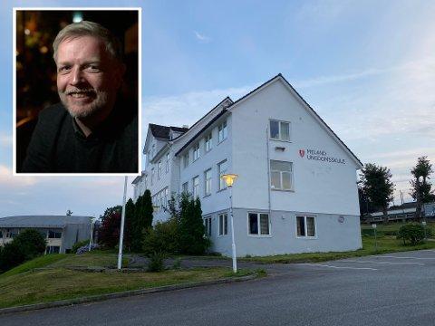MELAND UNGDOMSSKULE: Morten Rosvold fekk stillinga som rektor.