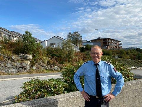 Ole Johan Ingebrigtsen er leiar for brannforebyggande avdeling i Nordhordland brann og redning.