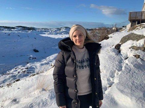 Annika Tvedt Villanger tek i vår over stillinga som helse- og omsorgssjef på Fedje.