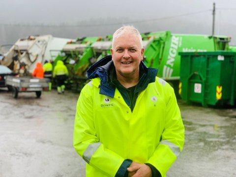 Håkon Kvamsdal rydda sjølv ekspressbåtkaia i Sollibotn då han så avfall hadde hopa seg opp på det tidlegare hentepunktet i gamleordinga til NGIR.