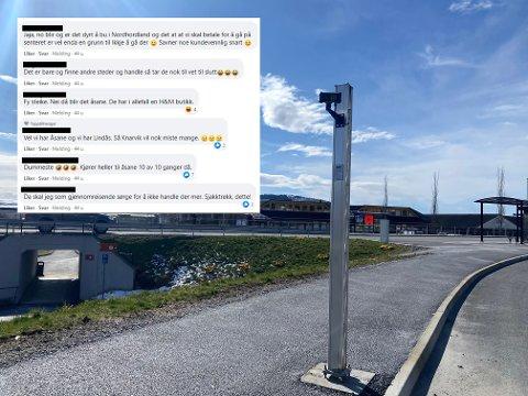 KRASS KRITIKK: Fleire har uttrykt misnøye med sentereigarane si avgjerd om å innføre betaling på Knarvik senter.