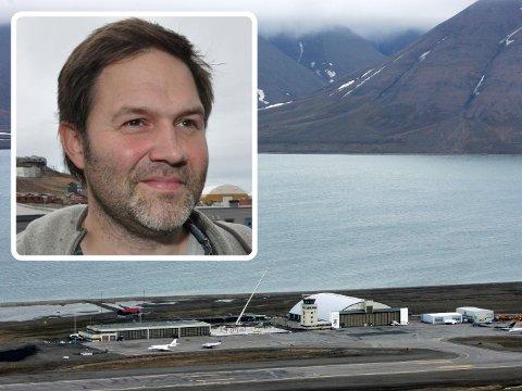 Arild Olsen er misfornøyd med flytilbudet til Svalbard og ser på Bodø som et alternativ.