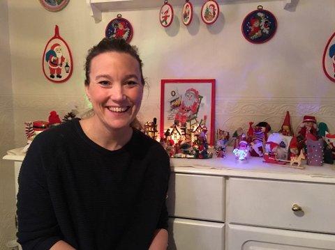 INNSAMLING: Christina Willumsen har sammen med sine kollegaer i Norlandia Mellommyra barnehage, samlet inn penger til familien som mistet Trond Hugo Karlsen i en tragisk ulykke i begynnelse nav desember.