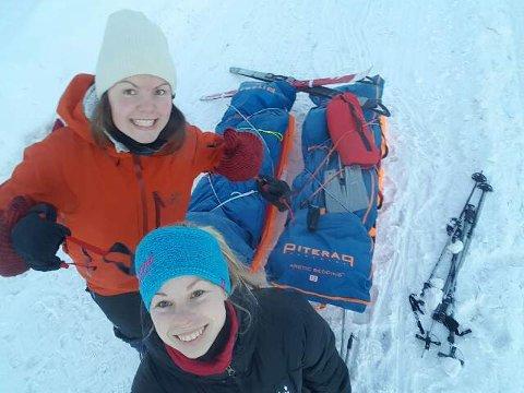 Magnhild Karsrud og Anette Catrin Olsen.