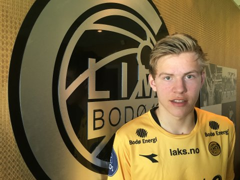 Jens Petter Hauge har forlenget kontrakten sin med Bodø/Glimt.