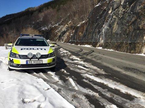 I april døde en 19 år gammel gutt etter en kollisjon med en trailer i Saltdal. Dette er en av tre dødsulykker i Nordland så langt i år. Foto: Tore John Andreassen.