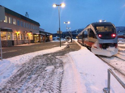 NSB tror det blir et godt år for pendlertoget mellom Rognan og Bodø.