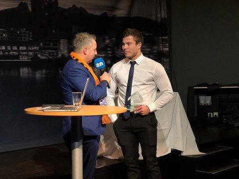 Årets spiller gikk til Røsts Preben Fagervik, som også ble årets toppscorer.