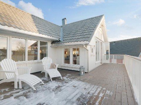 Bodøs dyreste: Familievillaen i Bodø sentrum er taksert til 11,5 millioner kroner.