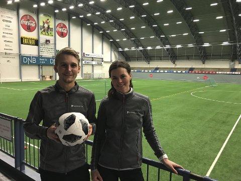 Sondre Skjelvik og Stine Mosti i Nordland Bedriftsidrett ønsker velkommen til den 25. utgaven av BiB Cup.