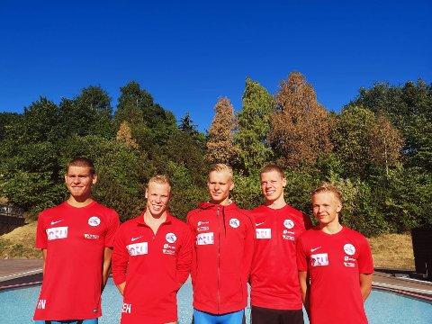 Bodøsvømmerne imponerte på stafetten i NM.