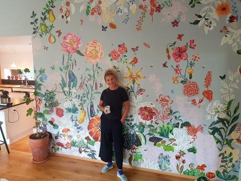 Grethe Mo tilbringer helst Bodø-turene på familiens landsted i Gildeskål.